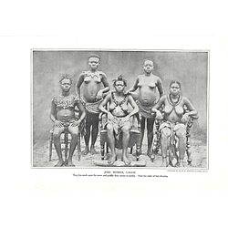1910 Five Jebu Women, Lagos, Seated And Standing