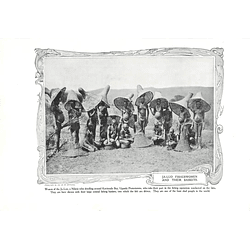 1910 Kavirondo Bay Uganda, Ja-luo Fisher Women And Their Baskets