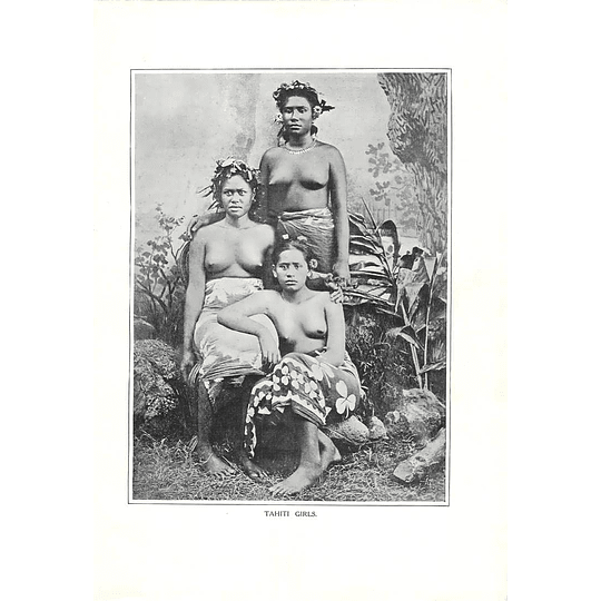 1910 Three Girls From Tahiti