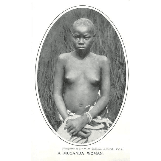 1910 A Muganda Woman