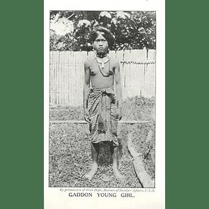 1910 Gaddon Young Girl