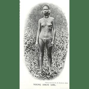 1910 Young Sakai Girl Photograph J Brockerel Italy