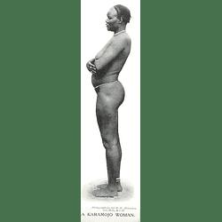 1910 A Karamojo Woman