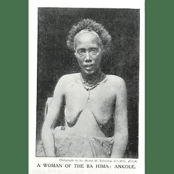 1910 A Woman Of The Ba Hima: Ankole