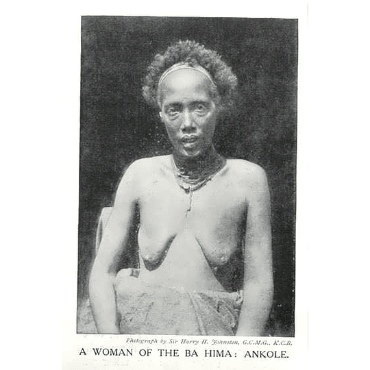 1910 A Woman Of The Ba Hima: Ankole