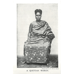1910 A Quetta Woman, Photo A Holm, Lagos