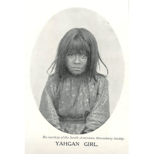 1910 Yahgan Girl, Photo, South American Missionary Society