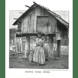 1910 Maori Native Food Store,