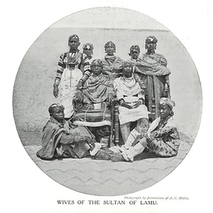 1910 Wives Of The Sultan Of Lamu