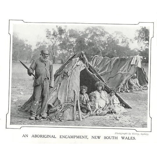 1910 Aboriginal Encampment In New South Wales, Photo By Kerry, Sydney