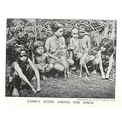 1910 Family Scene Among The Sakai