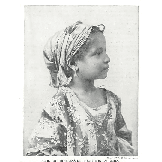 1910 Girl Of The Bou Saada, Southern Algeria