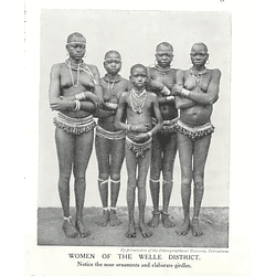 1910 Women Of The Welle District, Knows Ornaments, Elaborate Girdles