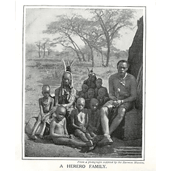 1910 Herero Family, Photo Supplied By Barmen Mission