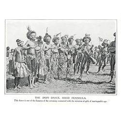 1910 The Iropi Dance, Hood Peninsula, Marriageable Girl Initiation