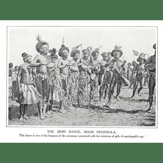 1910 The Iropi Dance, Hood Peninsula, Marriageable Girl Initiation