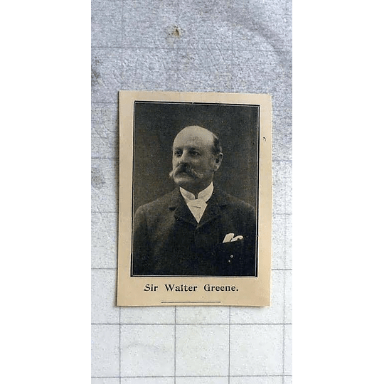 1900 Sir Walter Greene, Cambridgeshire