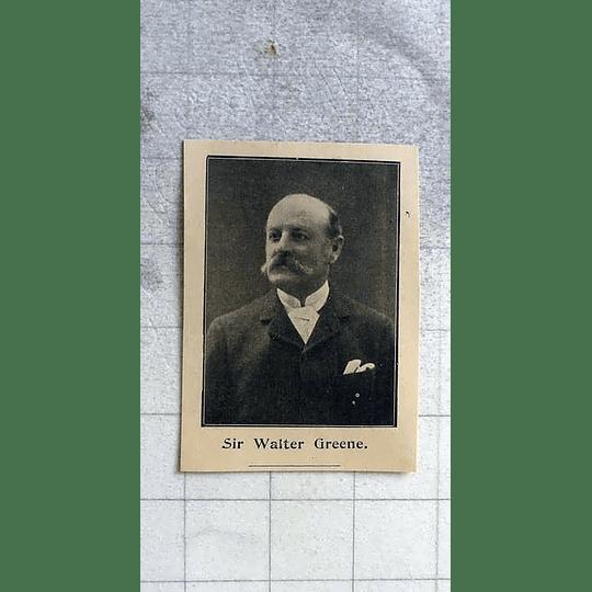 1900 Sir Walter Greene, Cambridgeshire