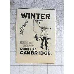 1900 Winter, Furniture Remover, 60 Hills Road Cambridge