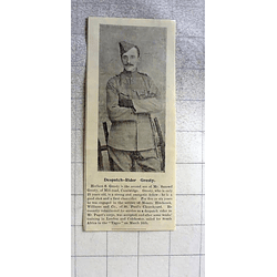 1900 Dispatch Rider Herbert Gresty Mill Road Cambridge