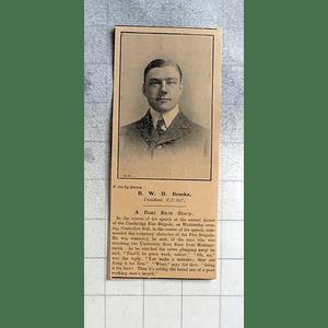 1900 Bwd Brooke President Cambridge University Boat Club