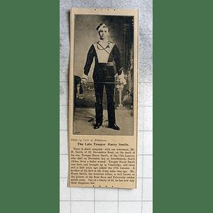 1900 Late Trooper Harry Smith Devonshire Road Cambridge