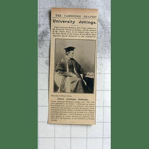 1900 Canon Armitage Robinson, Cambridge University