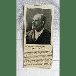 1900 Ald G Stace, Cambridge Town Council