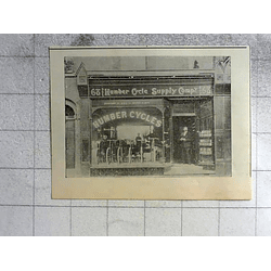 1900 Humber Cycle Supply Company Shopfront Cambridge