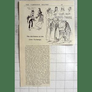 1900 Cambridge Aged Poor, Old Robins Corn Exchange