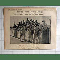 1900 Cambridge Men, S Africa,nooch, Bulman, Heal, Steward, Aldiss, Riggs