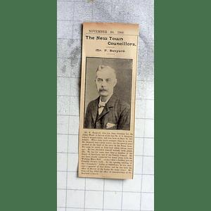 1900 Mr F Barnyard, New Cambridge Councillor