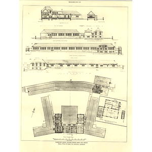 1927 Elementary School, Watling Estate, Burnt Oak Hendon First Floor Plan