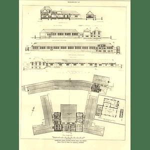 1927 Elementary School, Watling Estate, Burnt Oak Hendon First Floor Plan