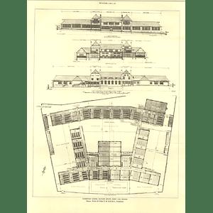 1927 Elementary School, Watling Estate, Burnt Oak Hendon Design Plan