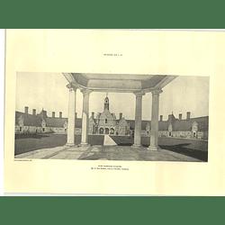 1927 Foord Almshouses, Rochester, Guy Dawber Architect