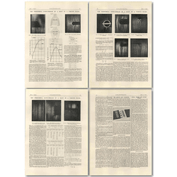 1927 Phenomena Dowstream In A Body Of Viscous Fluid