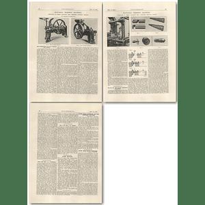1927 Bolt-head Trimming Machines, Hilgeland, Ronsdorf