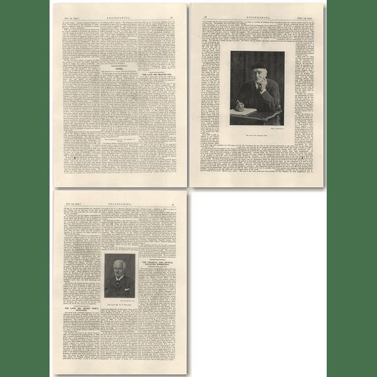 1927 The Late Sir Francis Fox, Mr H P Boulnois