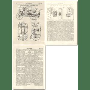 1927 Avance 2 Cylinder Hot Bulb Engine Tractor, Stockholm