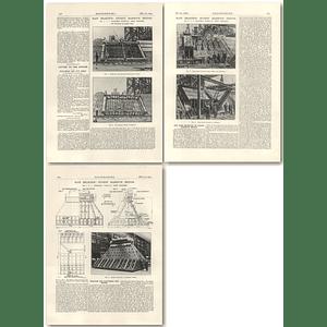 1927 The Main Bearings Of Sydney Harbour Bridge