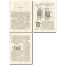 1926 Fuel Research Greenwich, Continuous Vertical Gas Retorts