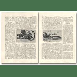 1926 Ruston Hornsby Paraffin Engine, Horse-drawn Mower