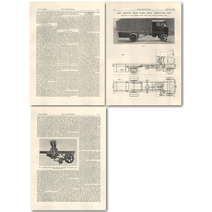 1926 6 Ton Compound Steam Wagon, Yorkshire Patent Company Leeds