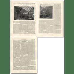 1926 14 Ton Asphalt And Tar Macadam Plant Ransome London