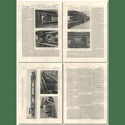 1926 1250 Ton Universal Testing Machine For Bridge Members, Avery