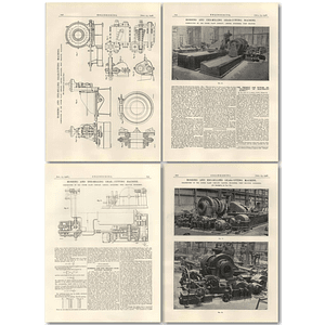 1926 Hobbing And End Milling Gear Cutting Machine, Powerplant West Drayton