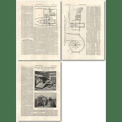 1926 Mine Ventilation Fan And Housing For Moddefontein, Walker, Wigan