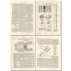 1926 Rugby Radio Station, Masts, Rigging, Earth System