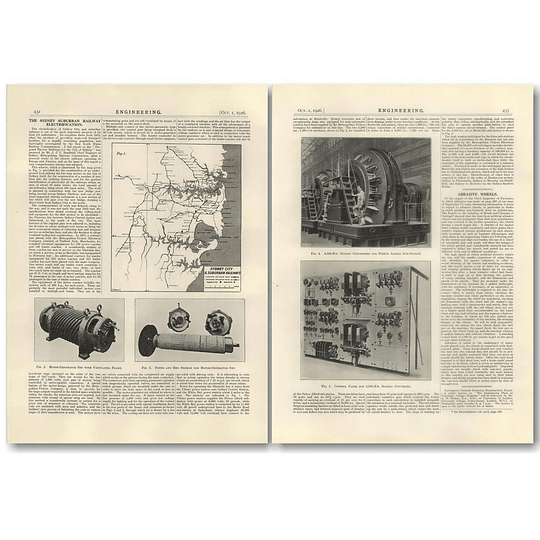 1926 Sydney City And Suburban Railway Electrification